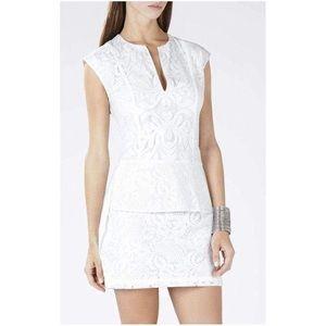 "White BGBGMaxazria ""Isabel"" Dress"